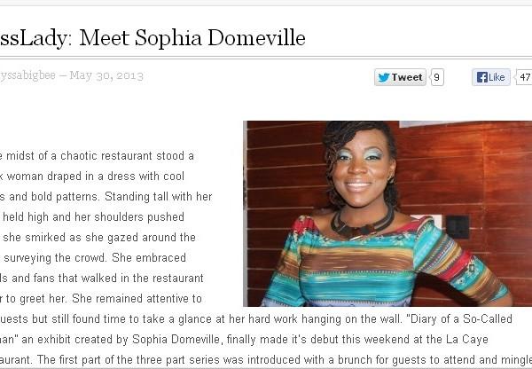 Meet Boss Lady: Sophia Domeville on SneakersandPumps.com