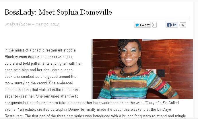 Meet Boss Lady: Sophia Domeville on SneaksandPumps.com