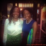 With supporter, CEO & Founder Stream Africa, Maimouna O. Gbor.